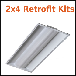 2x4 TKD Retrofit Troffer Conversion Kits from