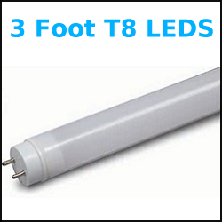 Any three foot T8 LED Retrofit tubes