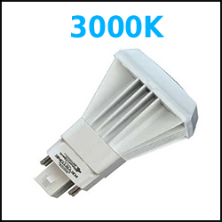 3000K vertical LED PL Type A