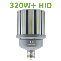 320W HID LED Replacement Corn Cob