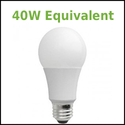 dimmable led a19 lamp 40W Equivalent