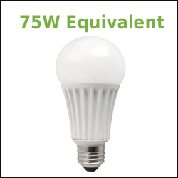 LED A21 Lamps 75W Equivalent