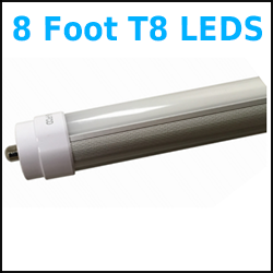 8 Foot LED T8 T12 retrofit Bulbs