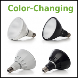 Color Changing LED PAR38 Ketra lumens