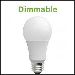 dimmable led a19 lamp
