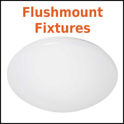 Flushmount LED Fixtures and LED Spin Lights