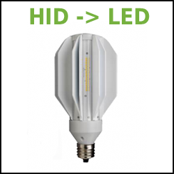 GE LED 400W Metal Halide Replacement