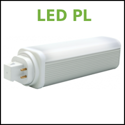 GE Type A LED PL Lamps