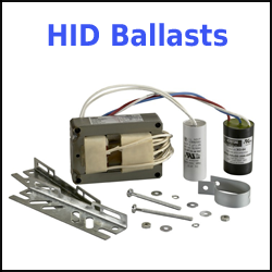 HID Ballasts for Metal Halide Mercury Sodium Bulbs
