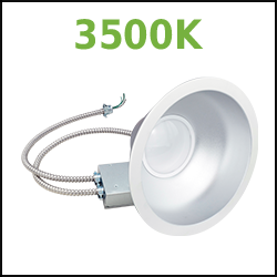 3500k LED Recessed Cans