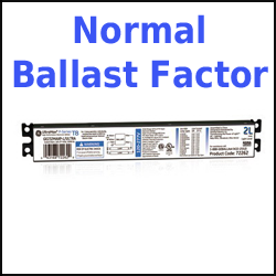 Program Start Normal Ballast Factor