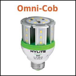 LED Omni Cob Bulbs from Hylite Omnicob lamps
