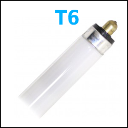 T6 Fluorescent Lamps Single Pin 4 foot