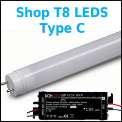 How to replace Fluorescent Tube Lamps with LED T8 Tubes Halo Fluorescent Light Wiring Diagram on