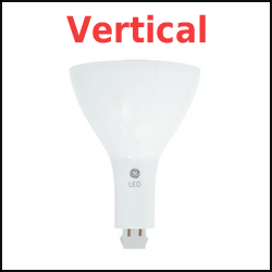 Type A LED PL Vertical Mounted