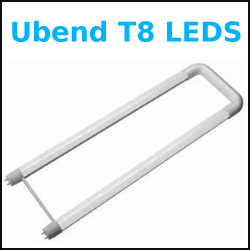 All four foot T8 LED retrofit lights